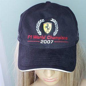 Kimi Raikkonen 2007 F1 World Champions Hat